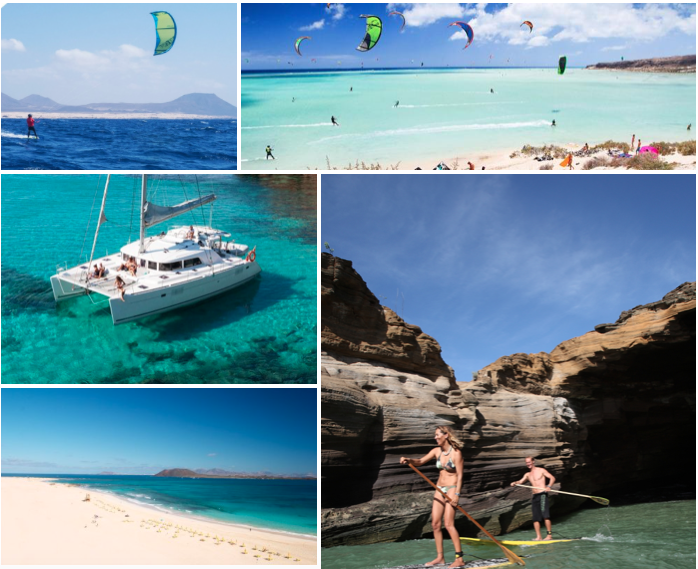 Charter Watersports Fuerteventura : Lanzarote