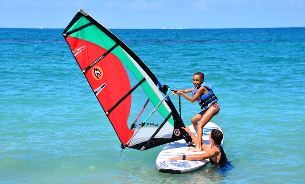 Windsurf beginner