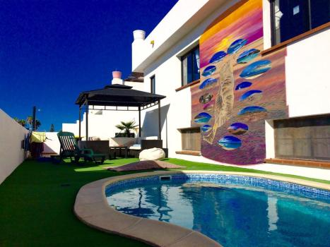 CBCM Surf Hostal pool