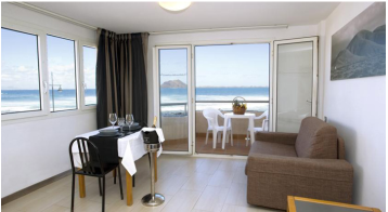 Surf, Kite & Yoga Camp sea view Fuerteventura room sea corner 2